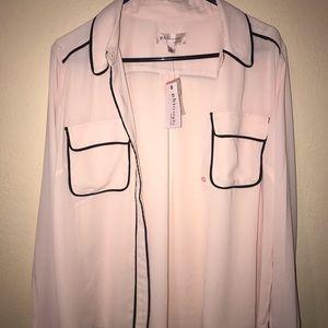 Philosophy button up blouse